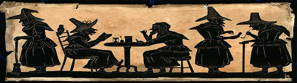 Witches enjoying their brew. Photo courtesy of BrewHoppin.