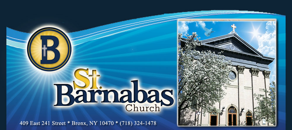 Are you a member of St. Barnabas Catholic Parish? Ask about parish member discounts!