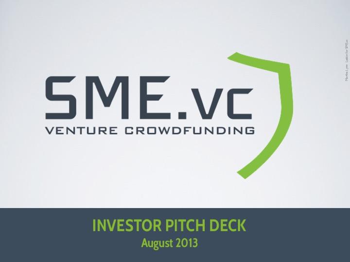 SMART MONEY ENTREPRENEURS VC