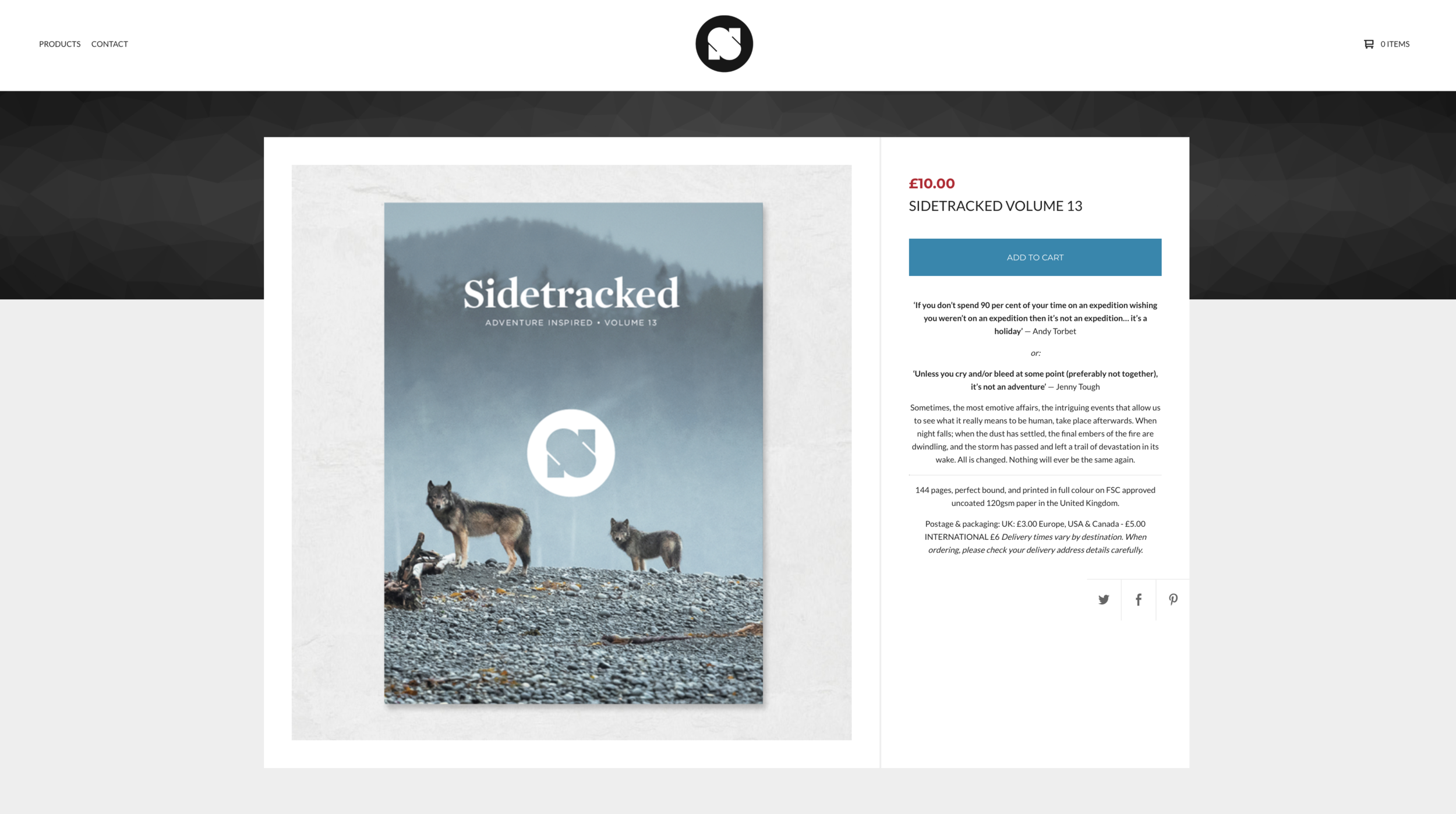 Sidetracked Volume 13 2018 Cover Shot and Ten Page Spread