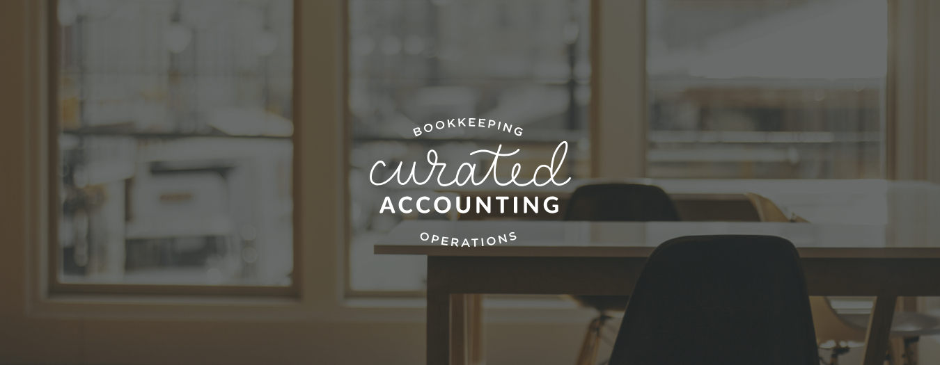 Curated Accounting | Logo Design | Samantha Madeo Design