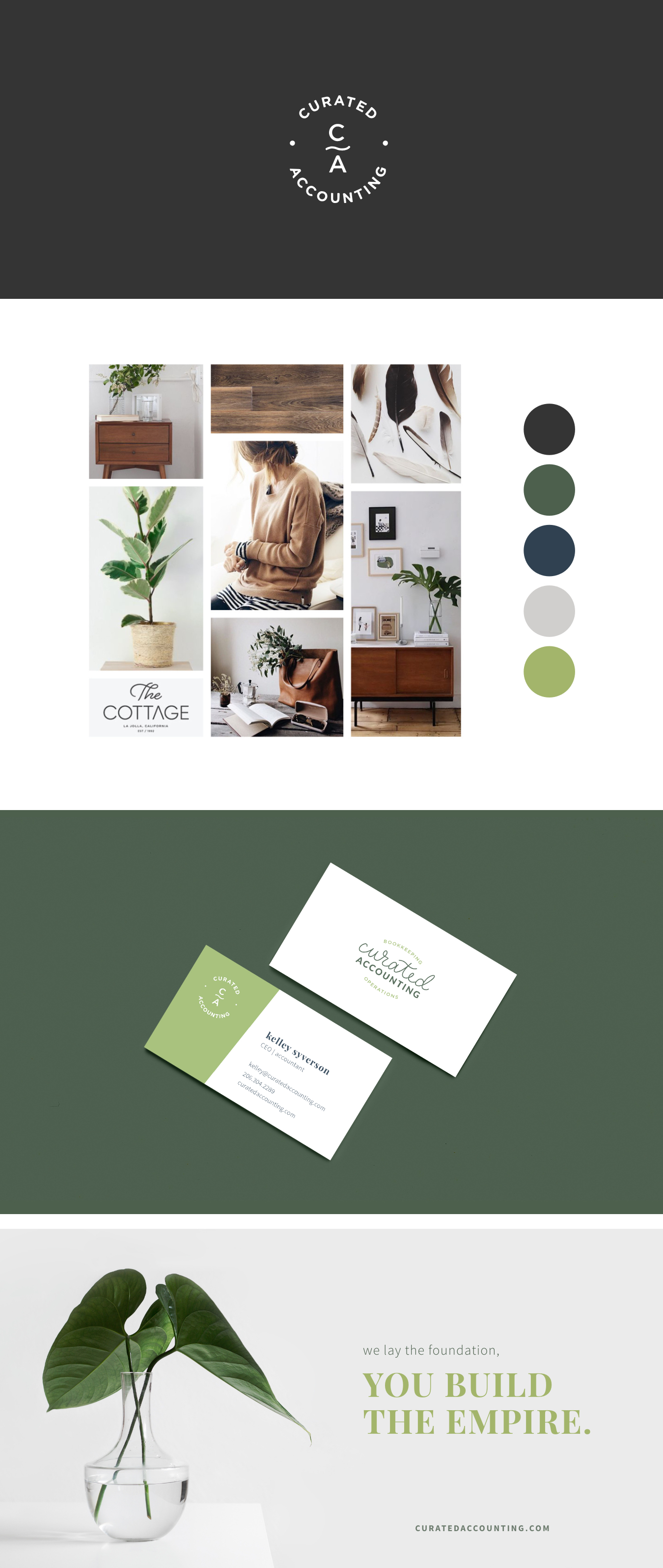 Curated Accounting | Brand Design | Inspiration | Samantha Madeo Design