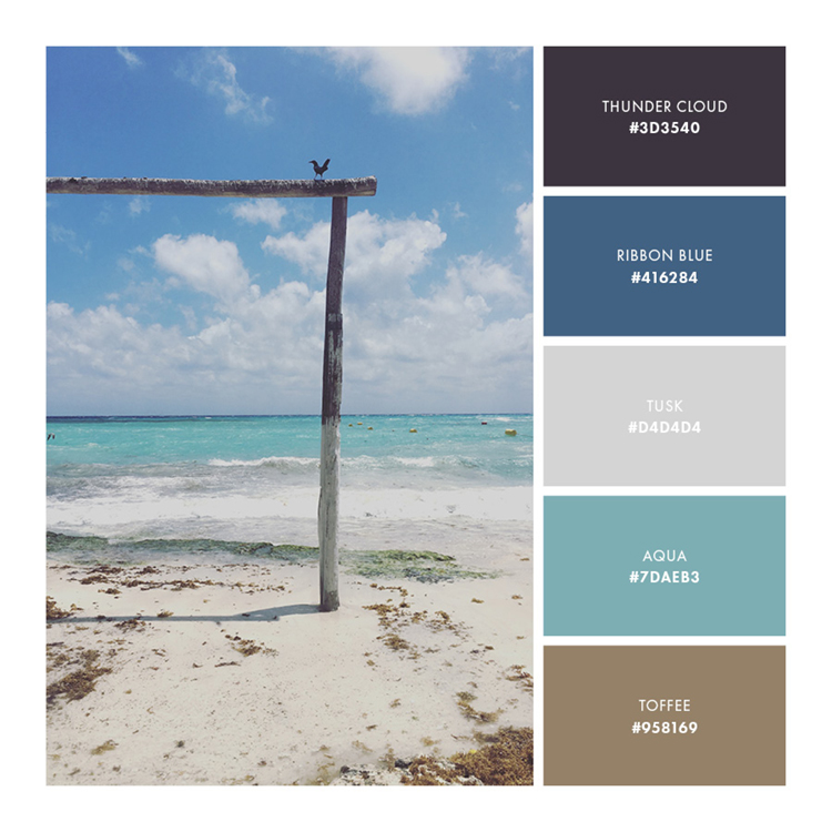 Palette 3  //  Relaxing and Secure