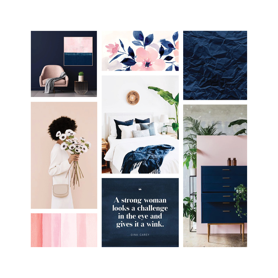 Moodboard Monday | Modern & Refined | Samantha Madeo Design