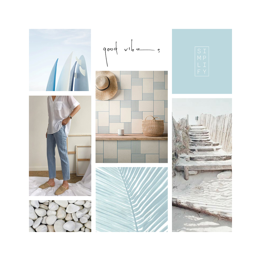 Moodboard Monday: Peaceful & Serene | Brand Inspiration | Samantha Madeo Design