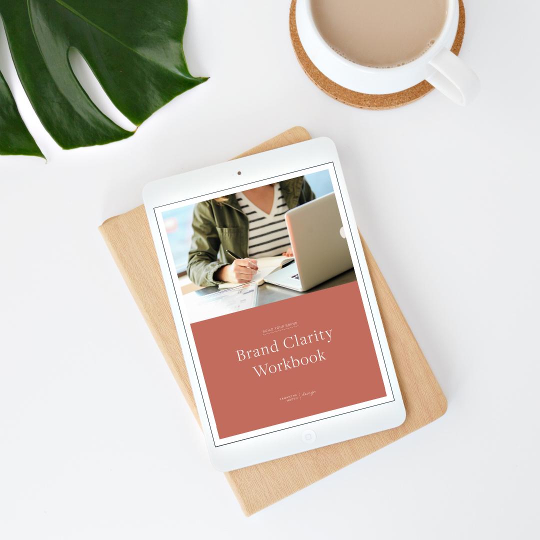 Brand Clarity Workbook | Samantha Madeo Design