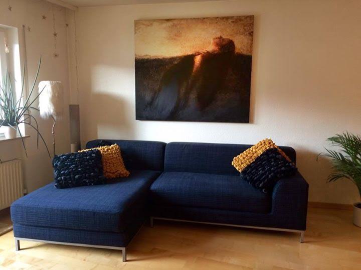 """5 feet x 4 feet photo encaustic painting of """"Emerging"""""""
