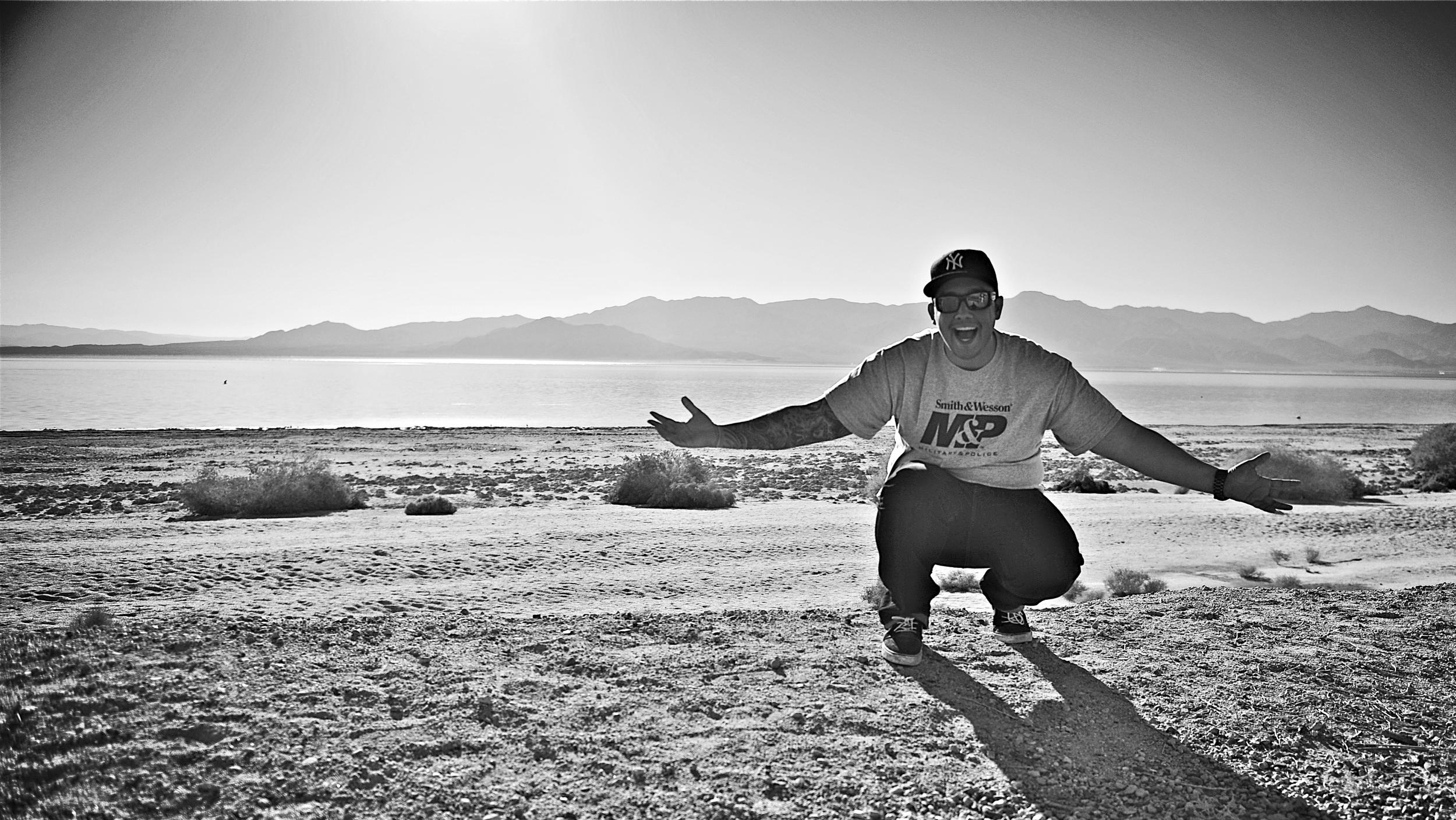 Salton Sea, Nov. 2013.