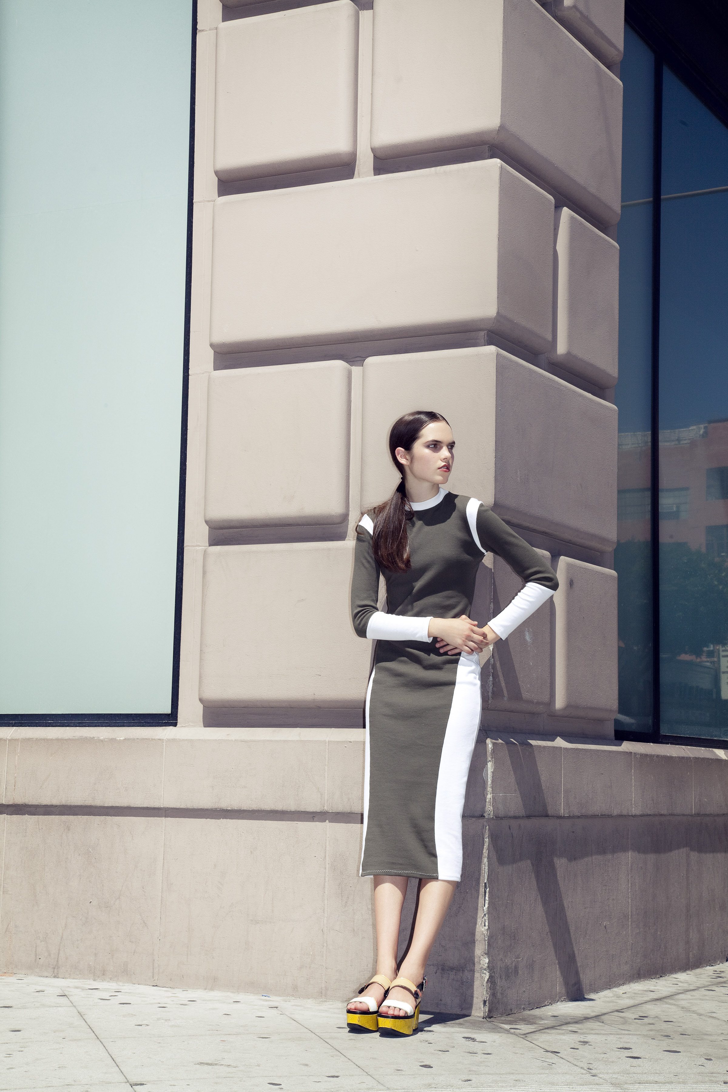 BRAZEN for Ladygunn Mag by Di Henri & styled by Keyla Marquez  (PANEL DRESS)