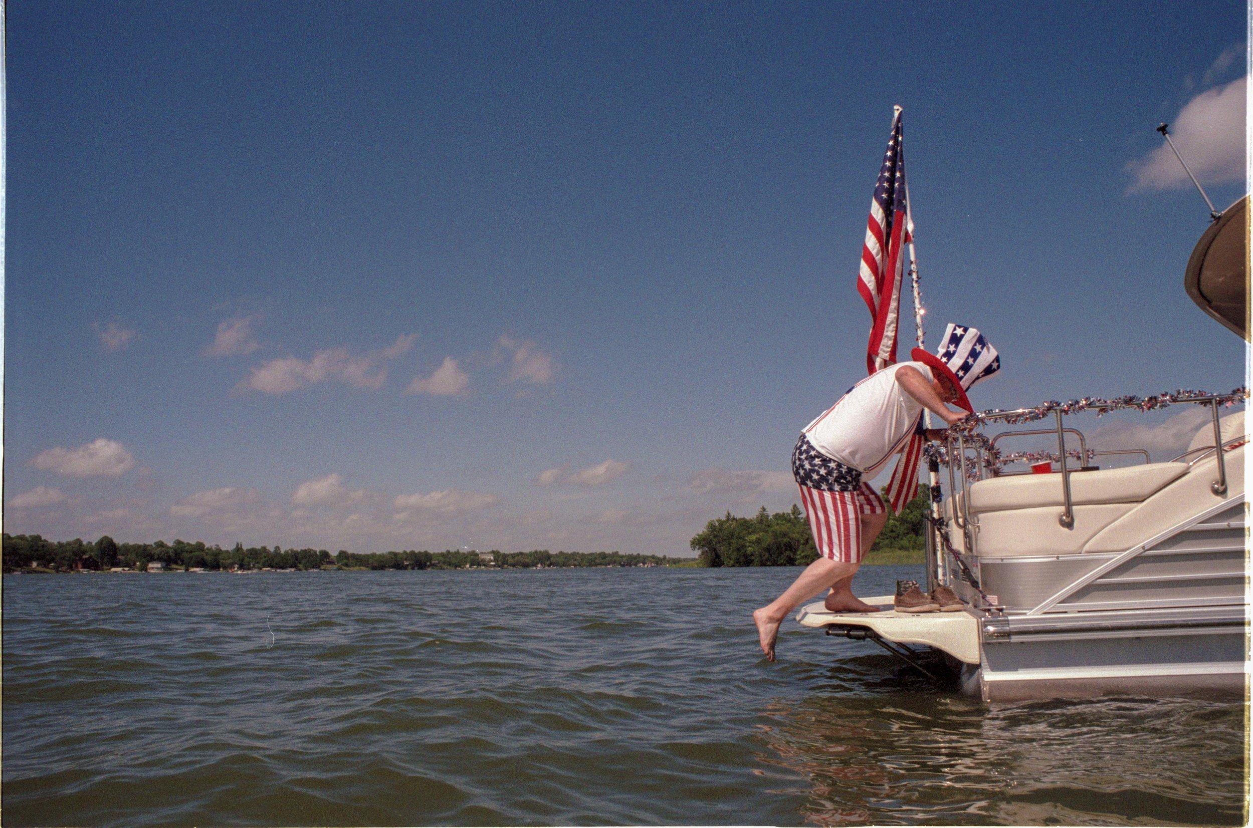 Independence Day |Lake Minnewaska,Minnesota 2016