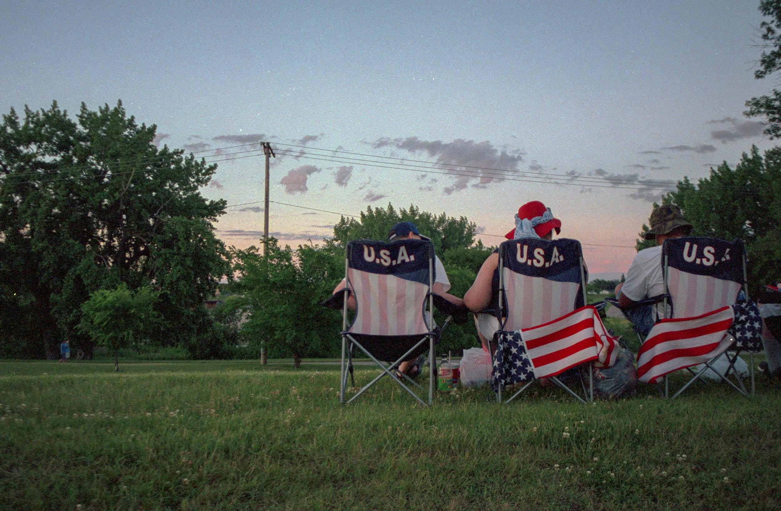 Waiting for Fireworks | Grand Forks, North Dakota 2016