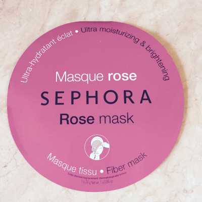 Sephora Rose Mask
