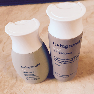 Living Proof Travel Sized Shampoo & Conditioner