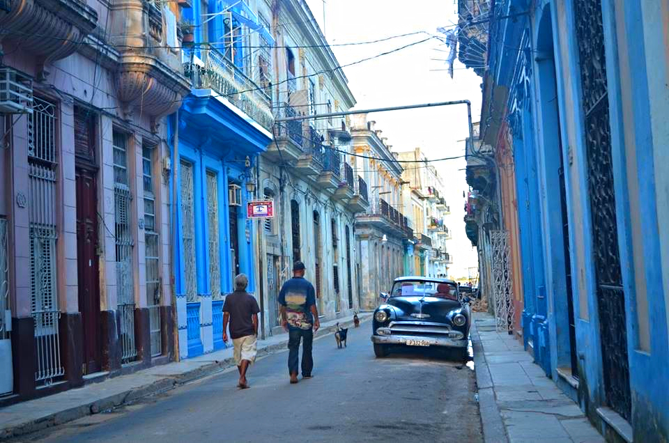 The streets old Old Havana