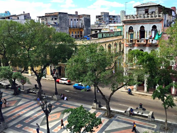 A birds eye view of Old Havana