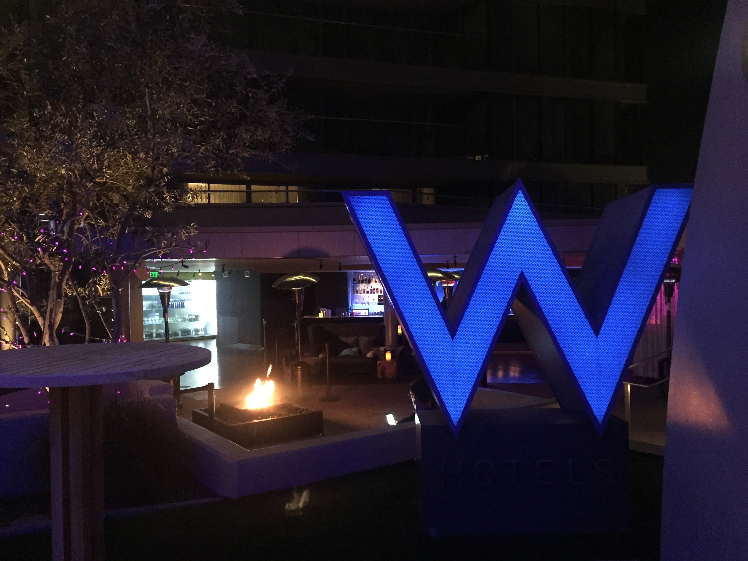 The Wet Deck at the W Scottsdale is the perfect party venue