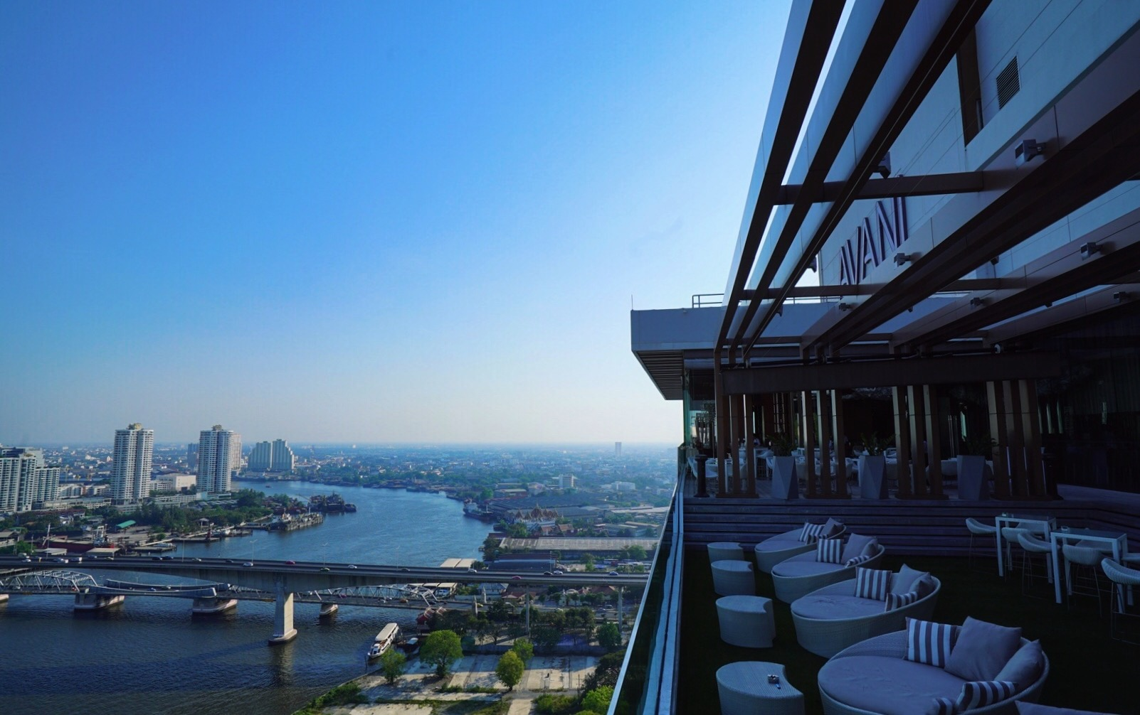 View from Avani Riverside rooftop