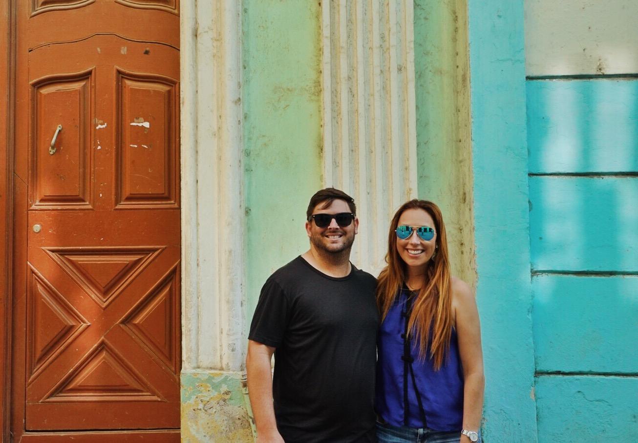 Frank & me in Old Havana