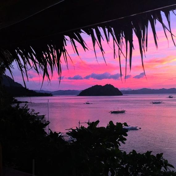 sunset bars el nido palawan philippines