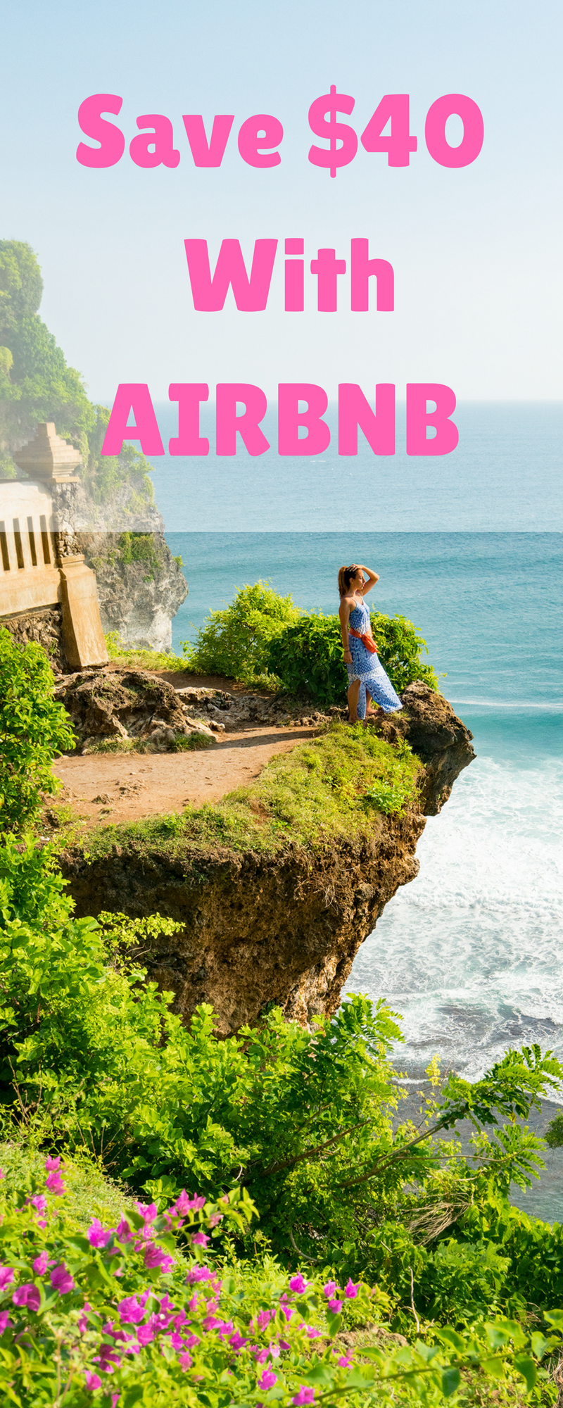 We love discounts and we know budget travelers do too! We will show you how to get $40 off your next AirBnb even if it's not your first booking. Come check out this money saving AirBnb hack and save it to your travel board so you can find it before your next trip. #budgettravel #airbnb