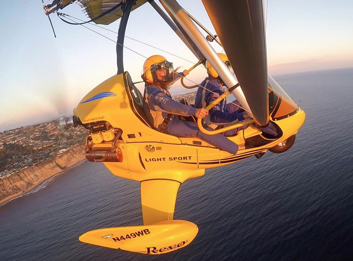 open air trike flyer
