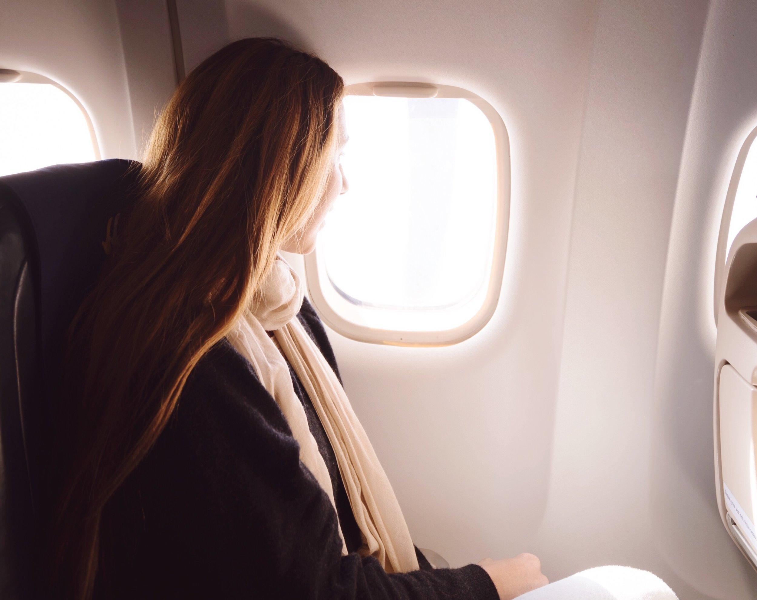 window seat selfish or smart telegraph trusted travel girl
