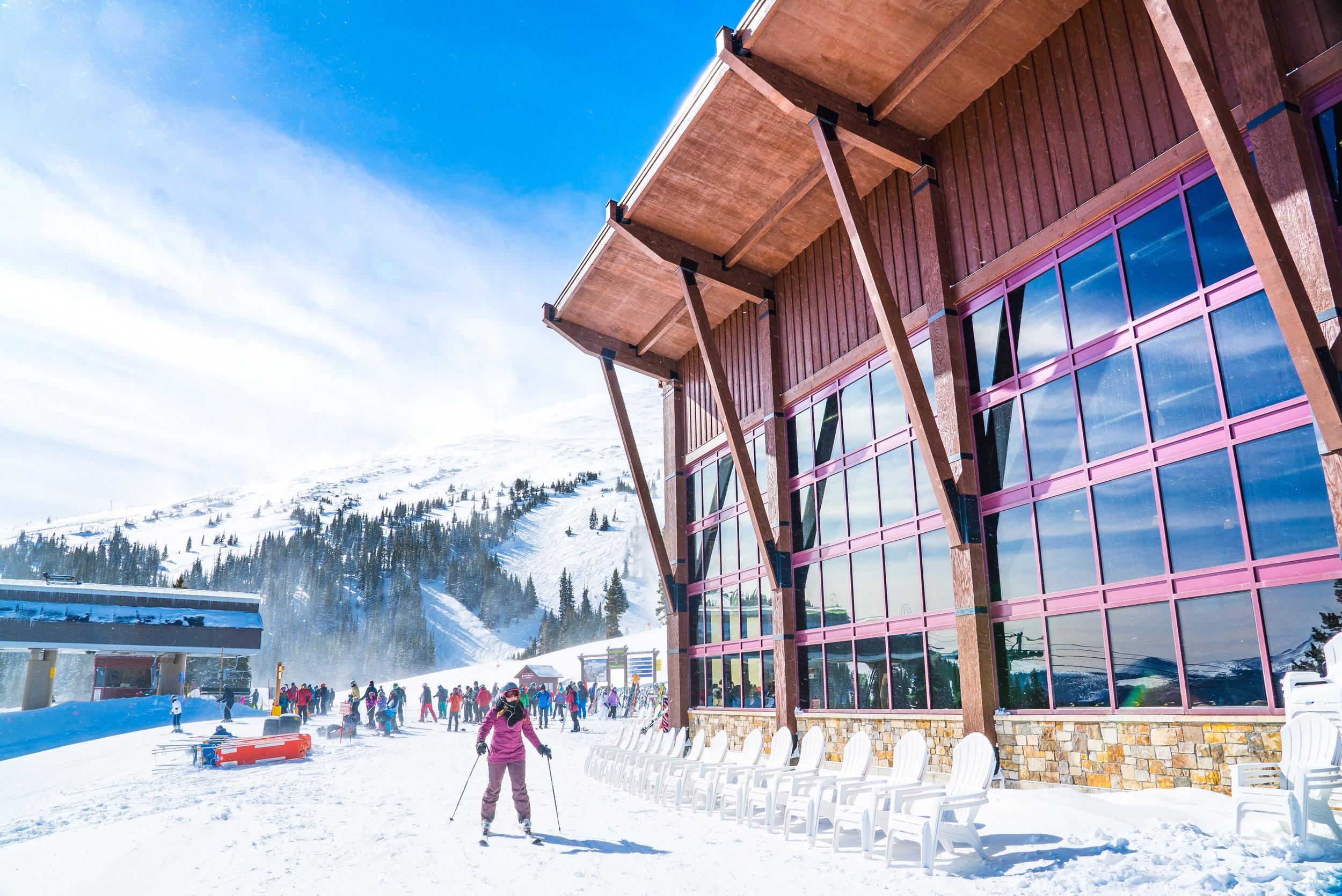 BRECK mountain new lodge travel colorado