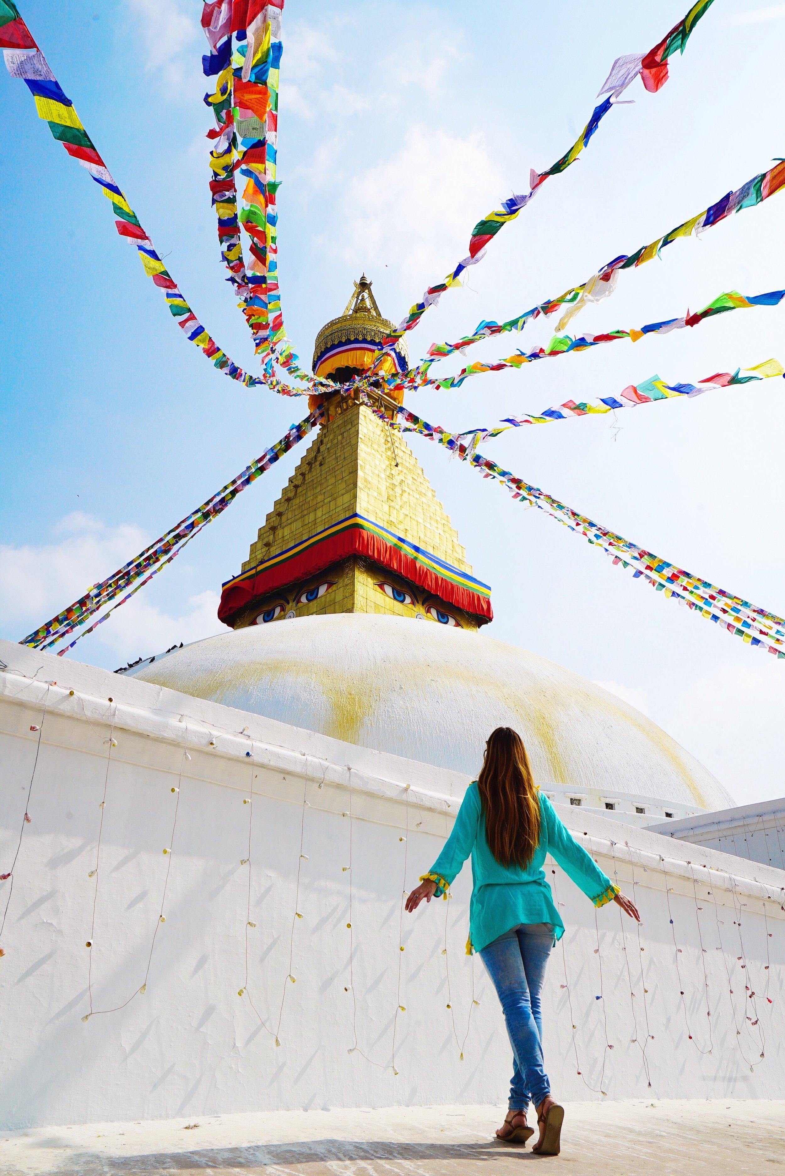 nepal trusted travel girl