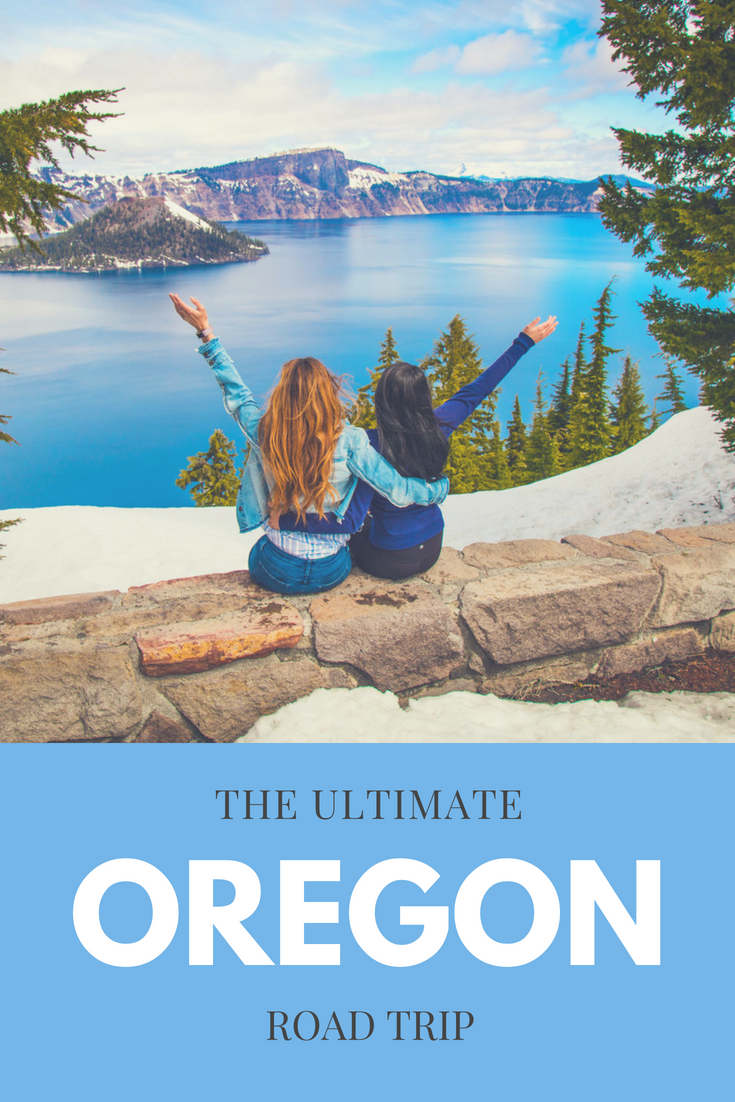 Oregon is a beautiful state to road trip through with so many cool things to see. Come check out our awesome Oregon road trip itinerary including our favorite things to do in Oregon and our favorite road trip stops in Oregon. You'll definitely want to see our favorite national parks in Oregon, our favorite places to eat in Oregon, and breathtaking views in Oregon, so make sure you save it to your road trip board! #oregon #roadtrip #oregonroadtrip