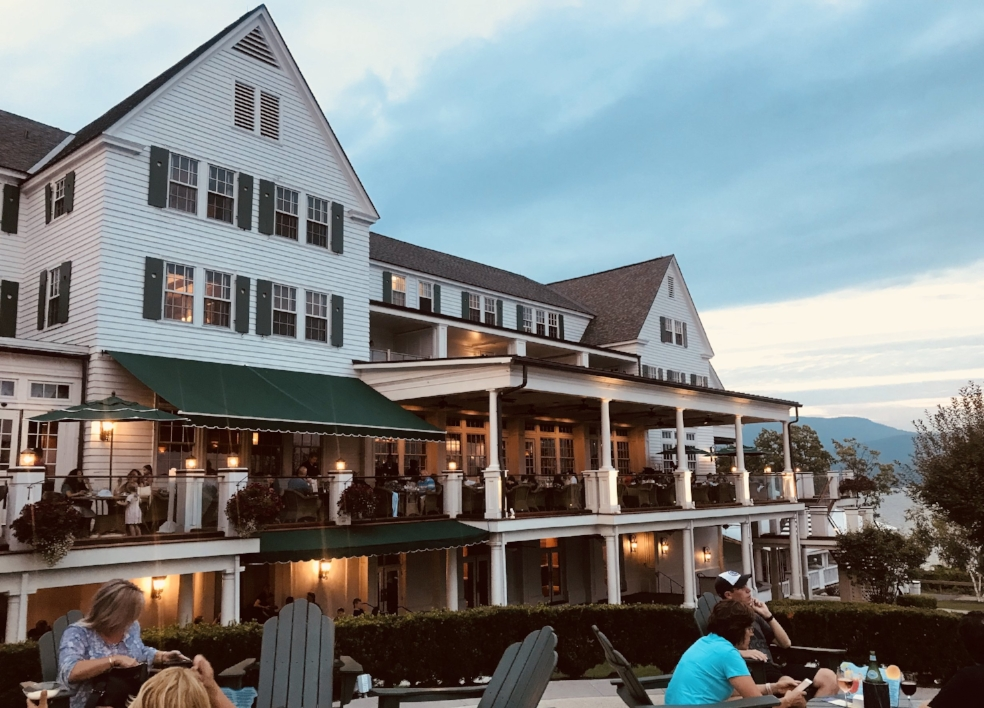 Things to do in Lake George, include relaxing at the Sagamore Hotel on the Lake.