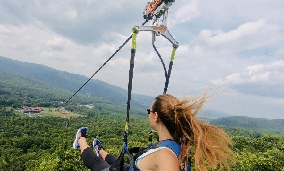 Things to do in Lake George, ziplines.