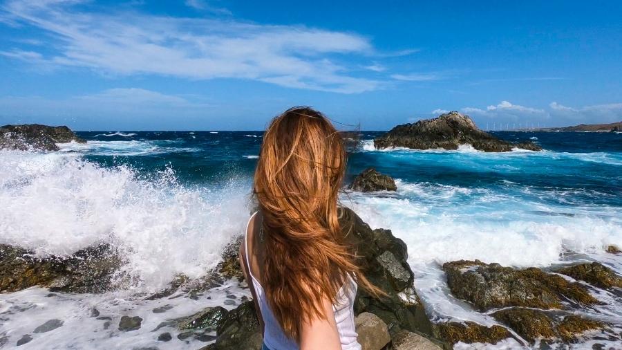 Aruba Conchi Natural Pool. Things to Do in Aruba. Adventurous Things to do Aruba. Best things to do in aruba.