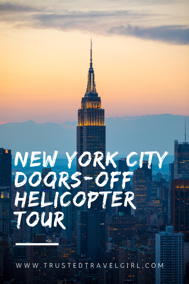 new york city helicopter ride doors off nyc