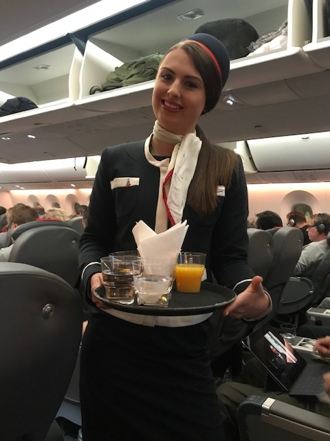 Great Service in the Preimum class economy cabin of Norwegian Air review