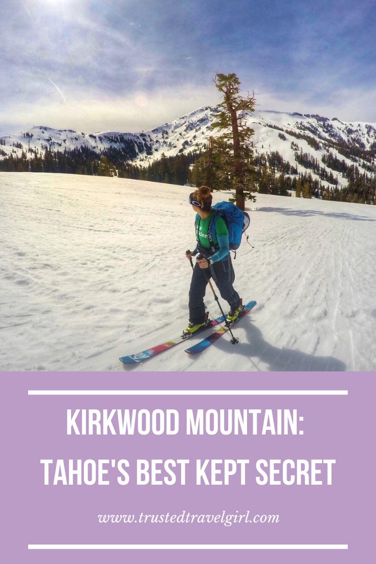 kirkwood mtn lake tahoe