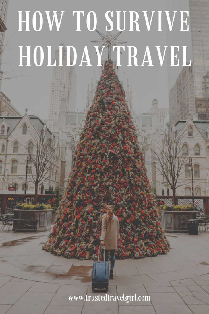 surviving holiday airport travel