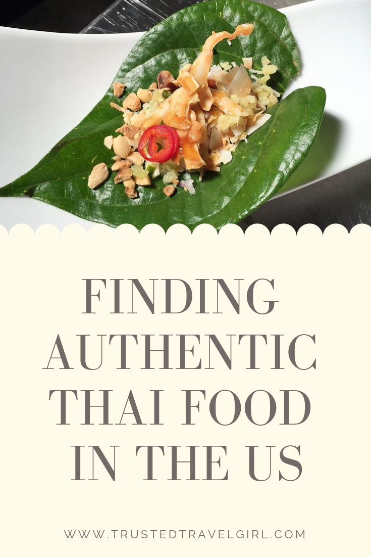 authenthic thai food usa
