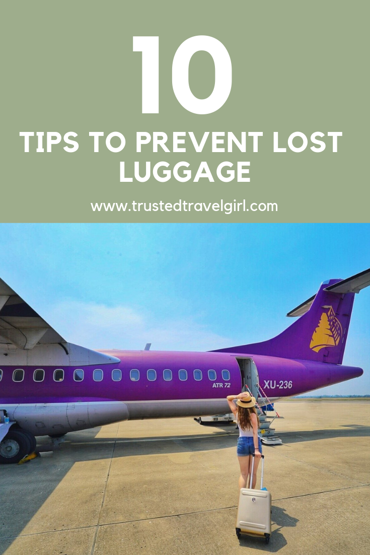 prevent lost luggage tips