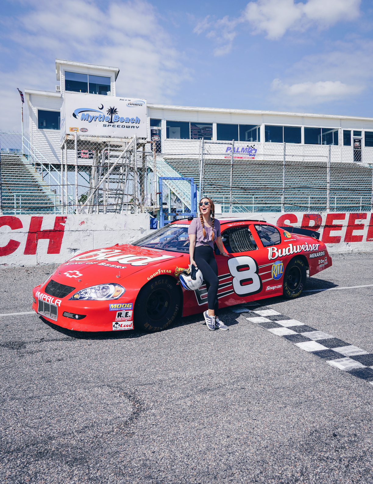 NASCAR Experience fun things to do myrtle beach