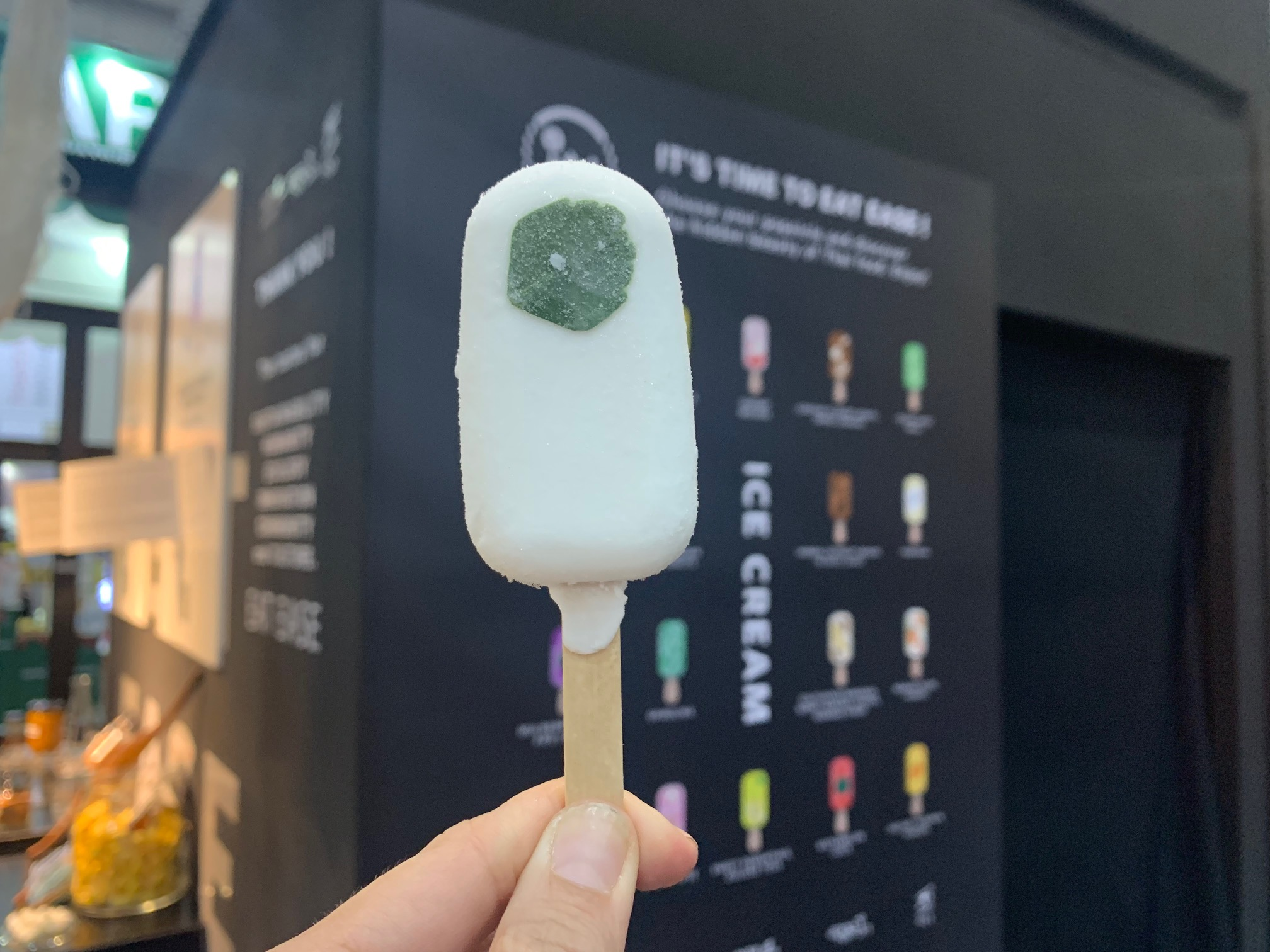 Tom Kha Ice Cream at THAIFEX 2019