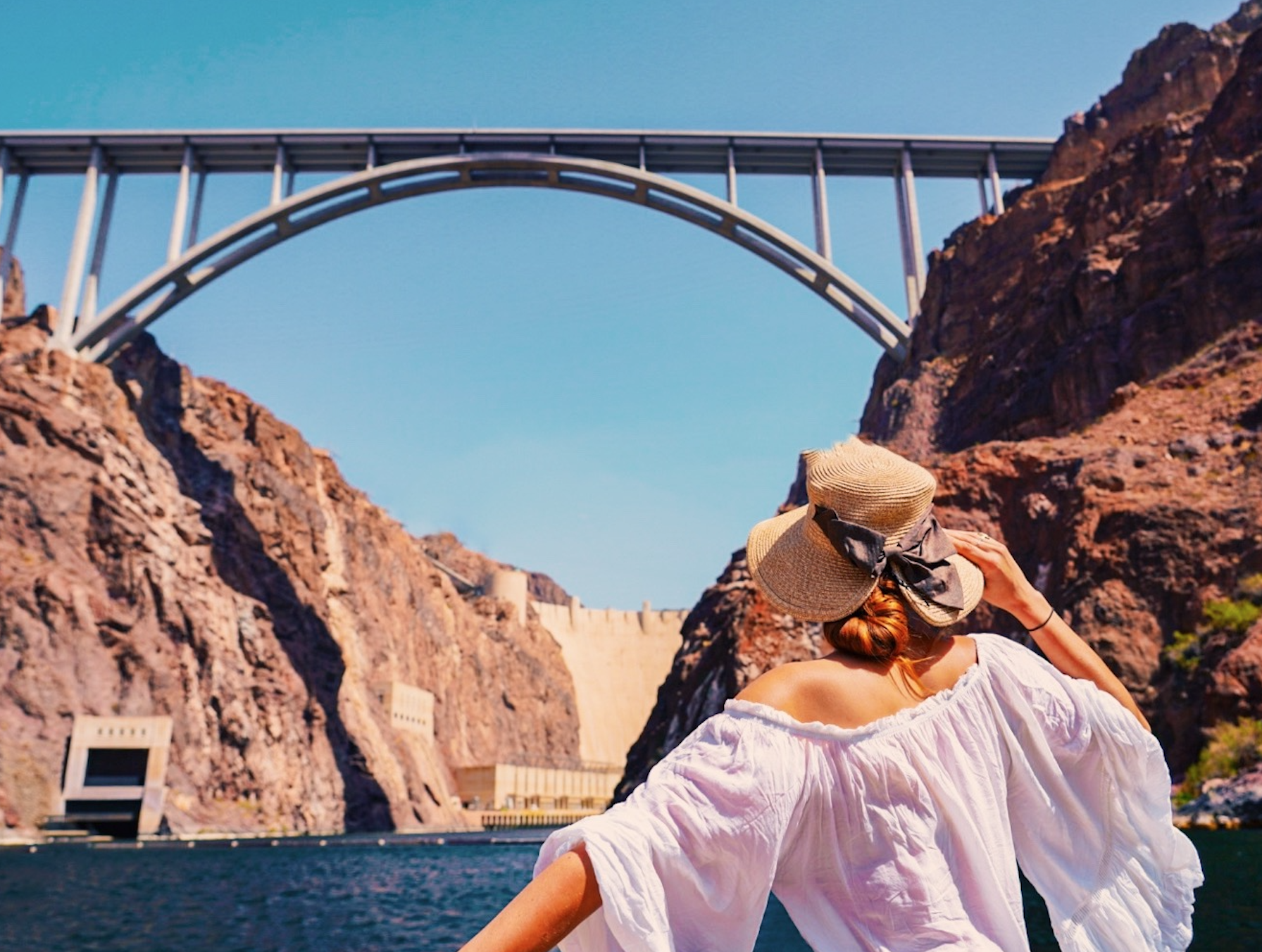 The Hoover Dam is one of the best day trips from Las Vegas, when visiting Nevada!