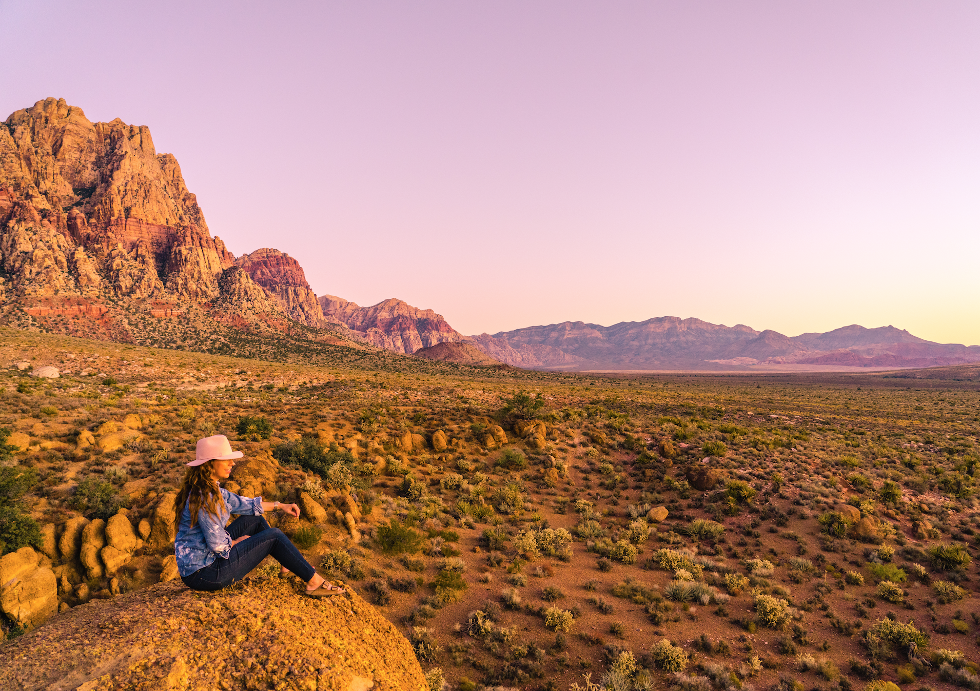 Spring Mountain State Park offers up a picture perfect sunrise, and is one of the best day trips from Las Vegas in Southern Nevada