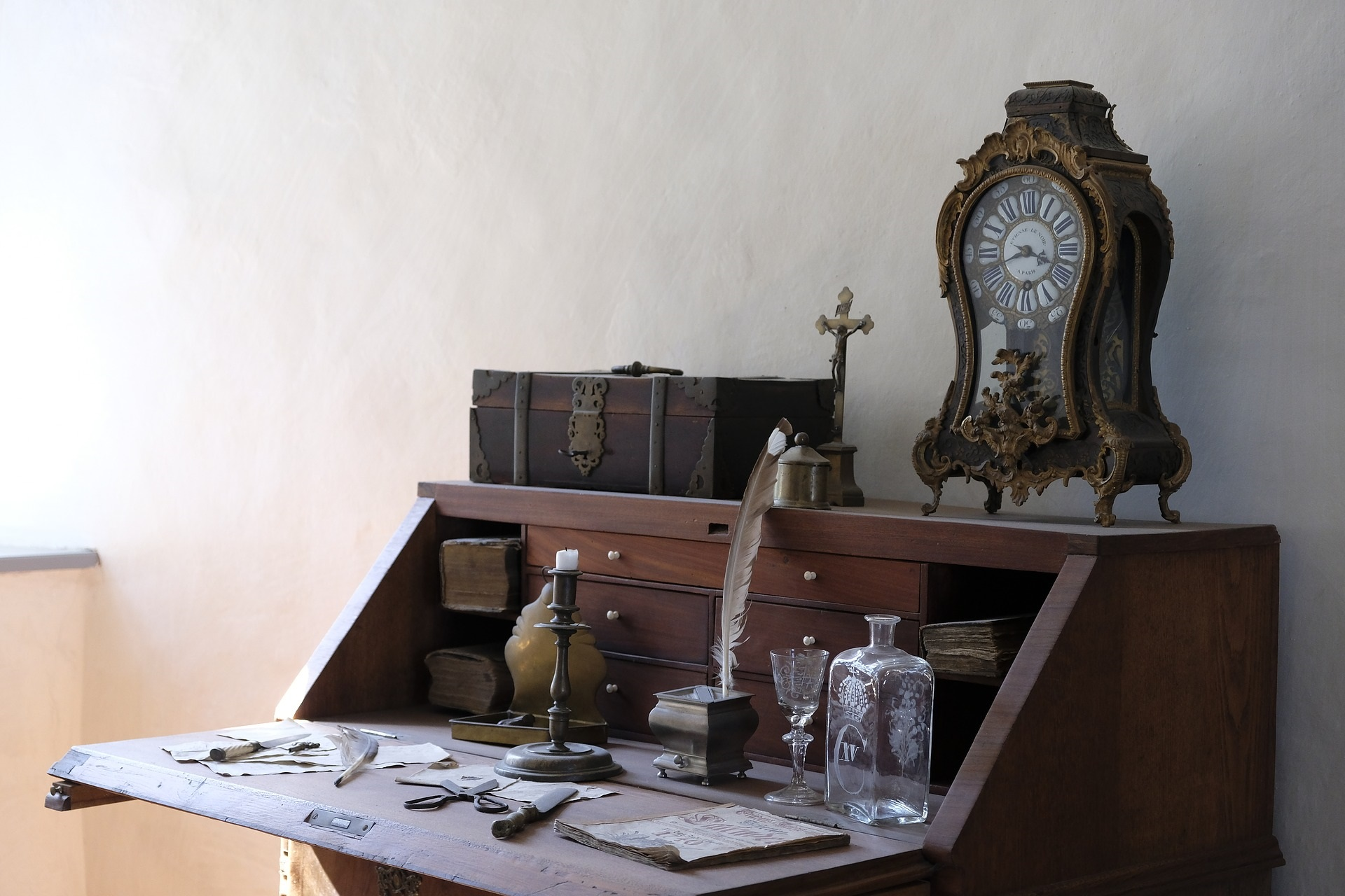 Grandfather Clock & Desk.jpg