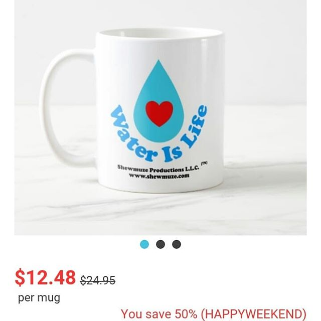 ♨☛ 50% off Mugs! ⛾ ☺ Enter Code at checkout: HAPPYWEEKEND 💠Limited Time!  Expires: 01/13/19 11:59:59 pm ☚ Pacific Standard Time (PST) (See details for more information)  www.zazzle.com/shewmuze  See cup photos... 💙💦Water Is Life_Design #1 Coffee Mug | Zazzle.com https://www.zazzle.com/water_is_life_design_1_coffee_mug-168360006262910268 •°••°••°••°••°••°••°•••°•••°•••°•••°•••💦💙 Save The Water And The Land Coffee Mug | Zazzle.com https://www.zazzle.com/save_the_water_and_the_land_coffee_mug-168191440789121586 (2 photos shown of left & right cup handles) ••°••°••°••°••°••°••°••°••°••°••°••°•••°••°••°••°••°°••°🌌💜 Love & Paradigm Shifts Mug | Zazzle.com https://www.zazzle.com/love_paradigm_shifts_mug-168720063699608112 ◇•◇◇•◇•◇• •◇•◇•◇•◇•◇•◇•◇ Plus,  try Zazzle Black for free standard shipping! A 30 day trial offer~ https://www.zazzle.com/s/zazzleblack  #zazzlemade #zazzleshop #zazzleblack  #drinkware #cup #mug #coffee #tea #water #waterislife #savethewater #savetheland #thetimeisnow #time #nowisthetime #takeastand #stand #love #birth #paradigmshifts #blessing #generations #design #designer #shewmuze #shewmuzedesigns #shewmuzestore #sale #savings