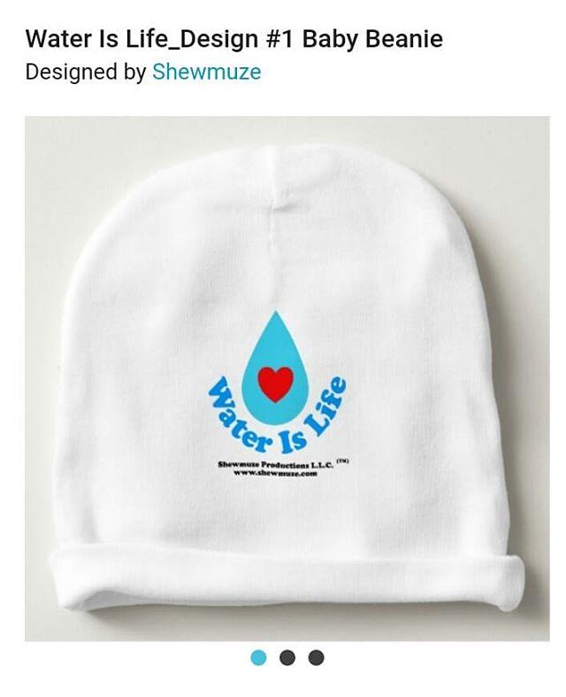 💓 Baby's Beanie 💙💦 Water Is Life_Design #1 Baby Beanie | Zazzle.com https://www.zazzle.com/water_is_life_design_1_baby_beanie-256500158850811564 #waterislife #water #baby #babyshower #beanie  #babyfashion #zazzle #zazzlemade #zazzleshop #fashion #design #designer