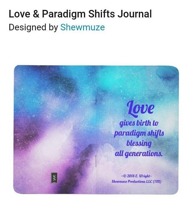 📖✒ Love & Paradigm Shifts Journal | Zazzle.com https://www.zazzle.com/love_paradigm_shifts_journal-256659170492765963 #love #lovequotes #birth #paradigmshift #paradigm #blessing #generations #writing #journaling #journal #zazzle #zazzlemade #zazzleshop #design #designer