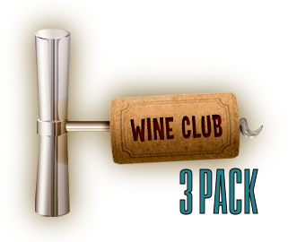 $75/Month  3 Bottles of Wine Total per Month  1 of each Featured Red or White Wine per Month