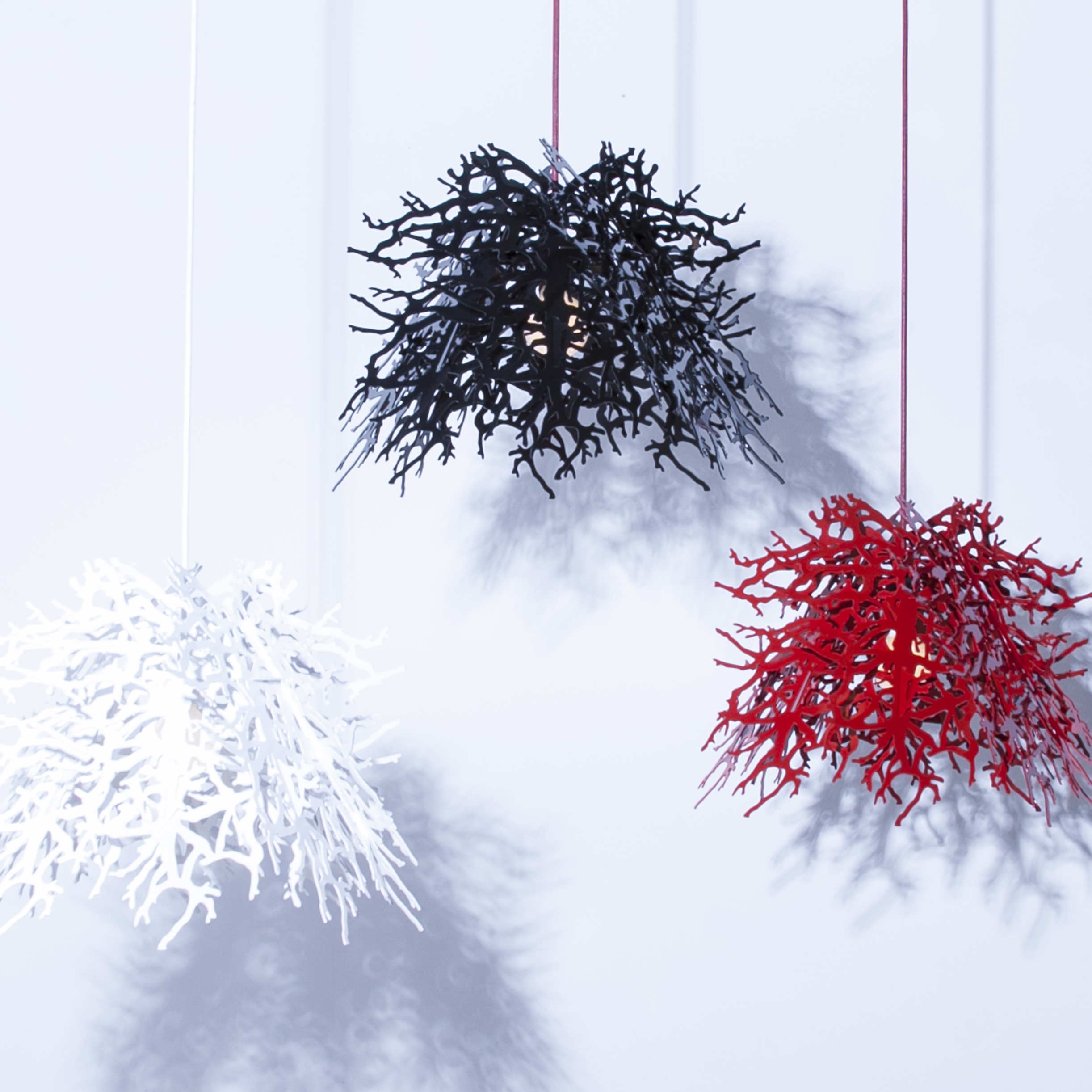 Abstraction / branch / powder coated aluminum $1680-$4600