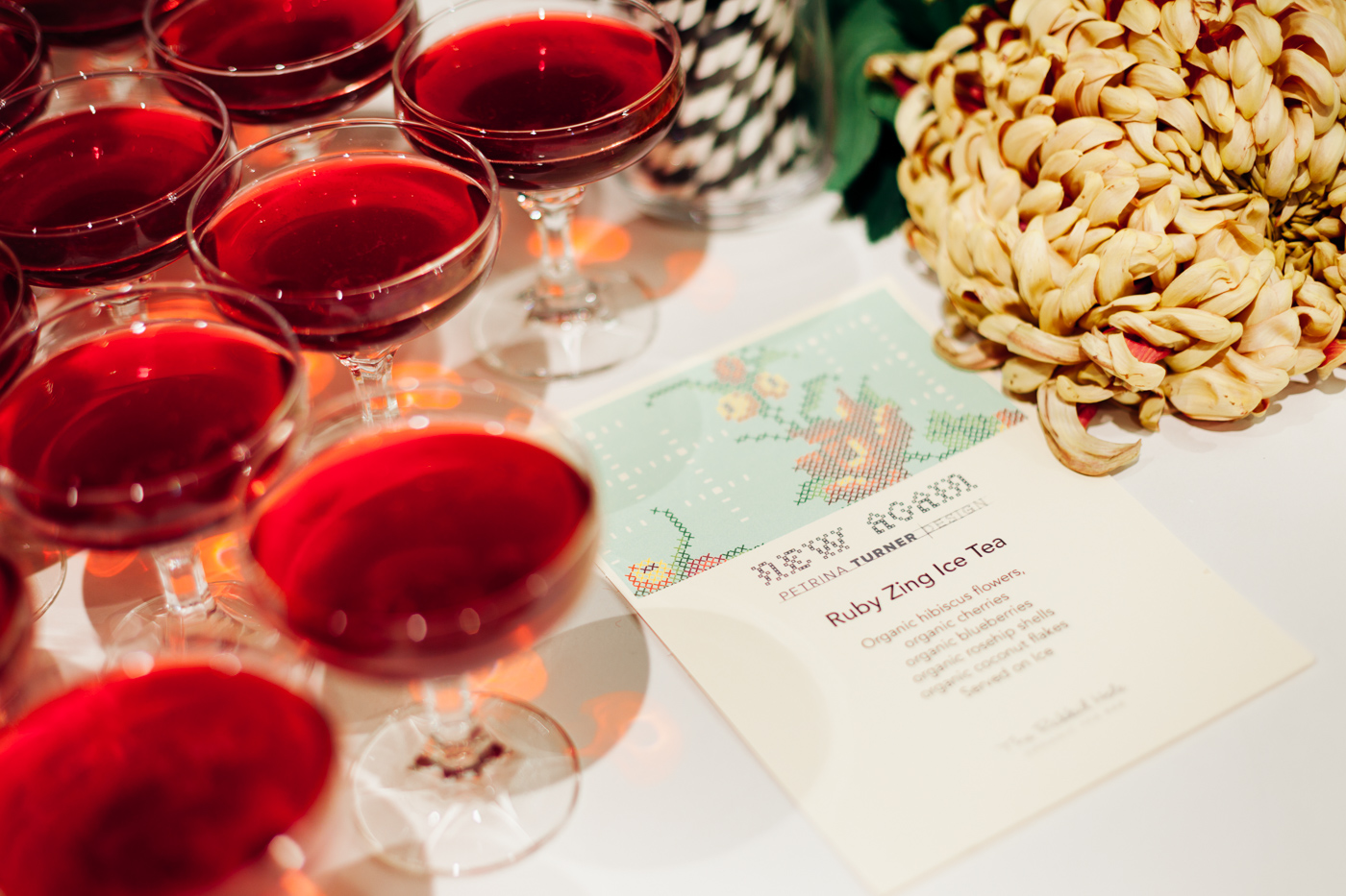 Ruby Zing Iced Tea... The Rabbit Hole |NEW AGAIN by Petrina Turner Design for Designer Rugs | The launch event