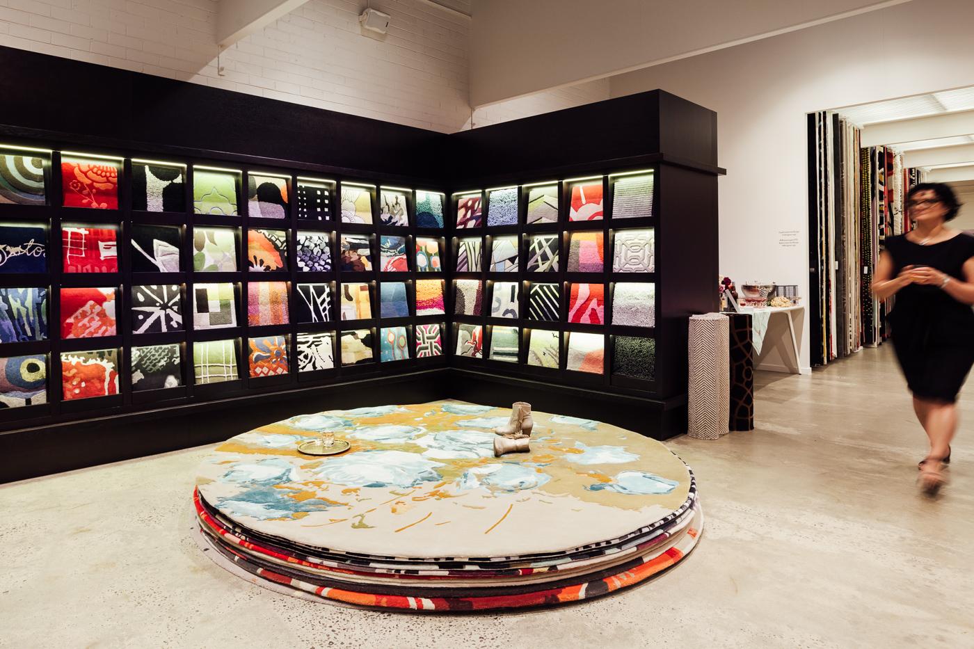 Mavis rug |NEW AGAIN by Petrina Turner Design for Designer Rugs | The launch event